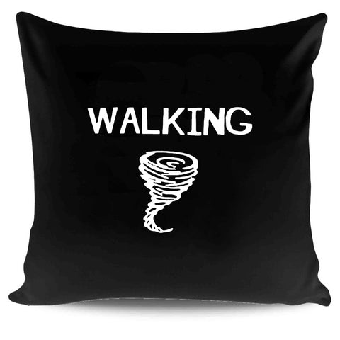 Walking Tornado Graphic Summer Christmas Gifts Funny Pillow Case Cover