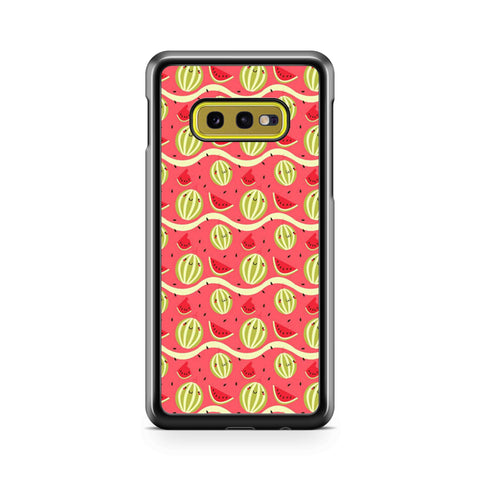 Watermelon Cute Pattern Samsung Galaxy S10 Case