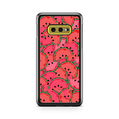 Watermelon Pattern Flatern Samsung Galaxy S10 Case
