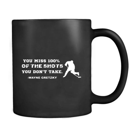 Wayne Gretzky Quote Hockey  Mug