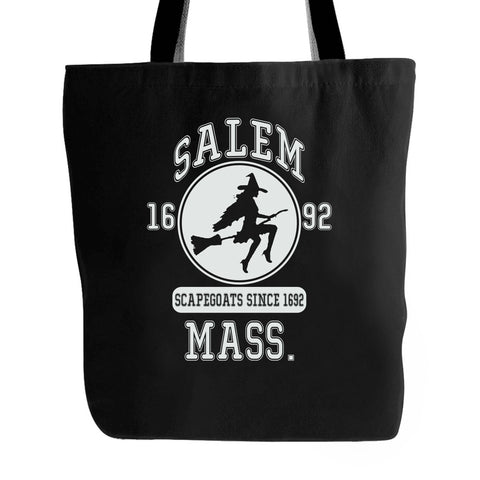 Wicca Witch Pagan Magic Varsity Team Style Salem Witch Trials 1692 Tote Bag