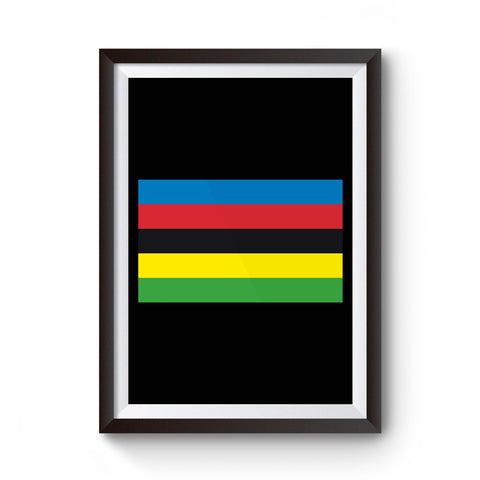 World Cycling Championship Uci Bicycle Poster