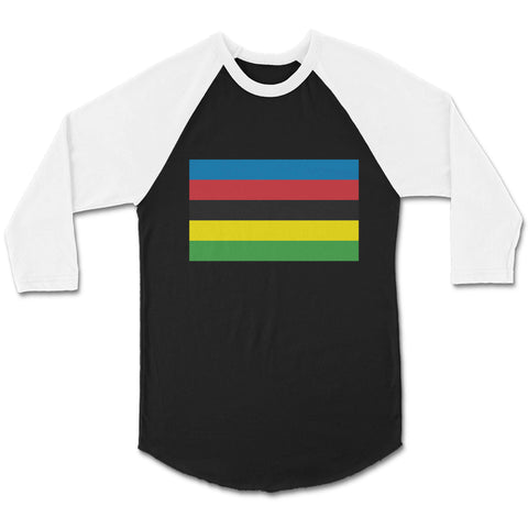 World Cycling Championship Uci Bicycle CPY Unisex 3/4 Sleeve Baseball Tee T-Shirt