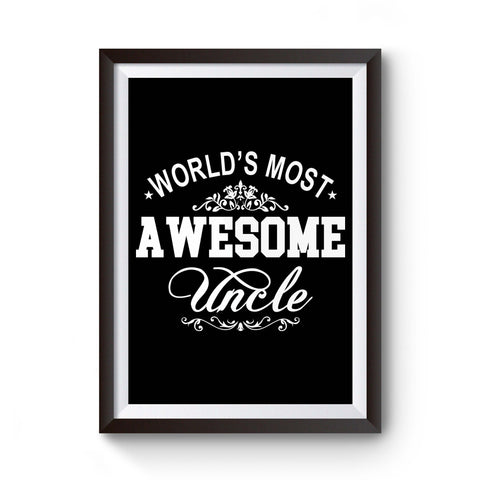 World's Most Awesome Uncle Poster