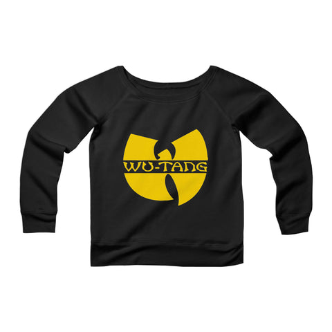 Wu Tang CPY Womans Wide Neck Sweatshirt Sweater