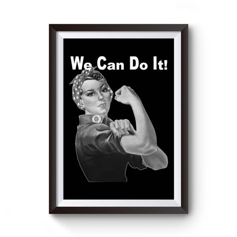 Ww2 Rosie The Riveter We Can Do It Graphic Poster
