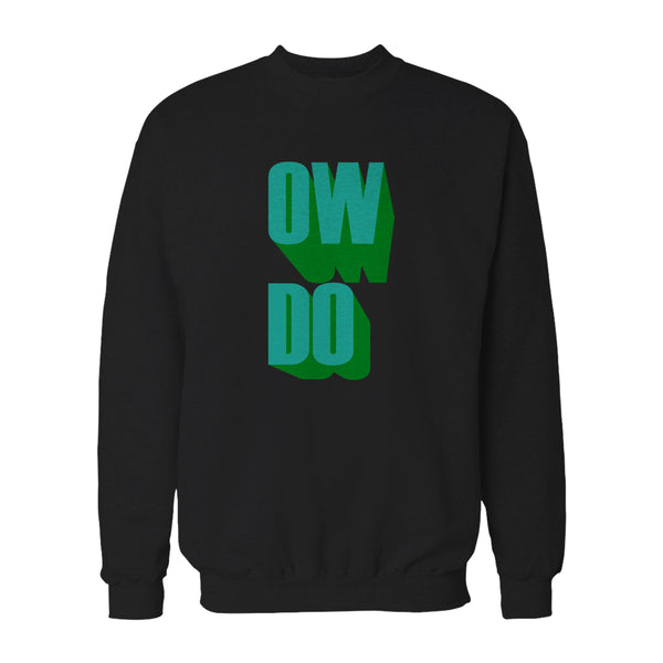 Yorkshire Slang Ow Do Male Graphic Sweatshirt