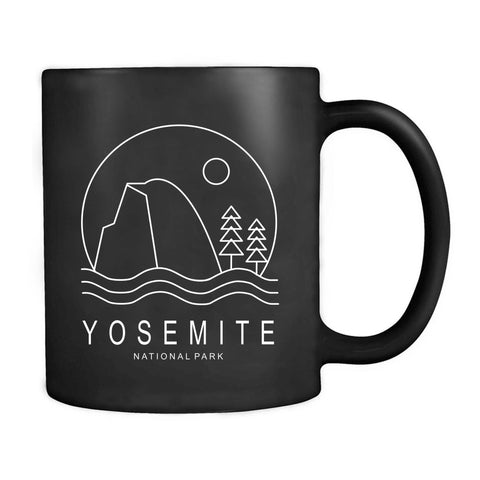 Yosemite National Park Logo GTT Mug