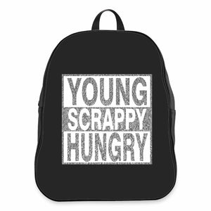 Young Scrappy Hungry CPY School Backpacks Bag
