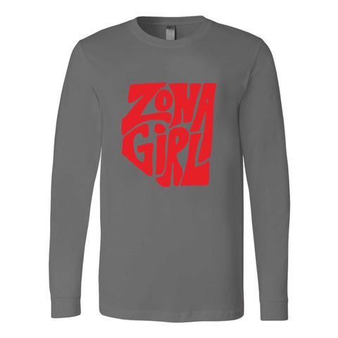 Zona Girl State Pride Long Sleeve T-Shirt