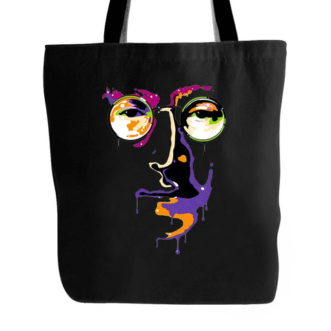 john Lennon Imagine Peace The Beatles Yoko Ono Graphic Political Art Street Art Illustration Tote Bag