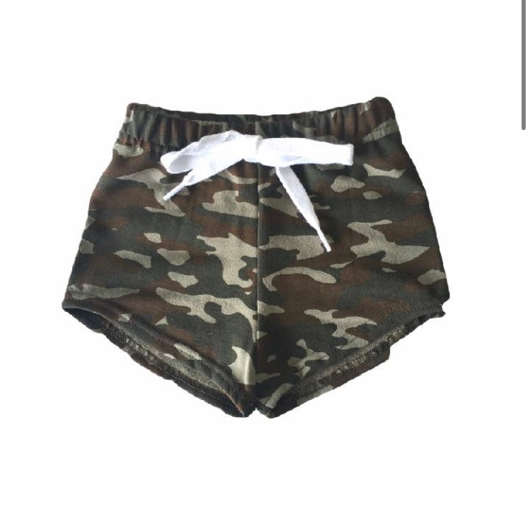 Infant/Toddler Camo Shorties