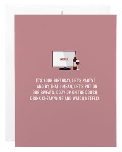 """Let's Party"" Card"