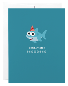 """Birthday Shark"" Card"