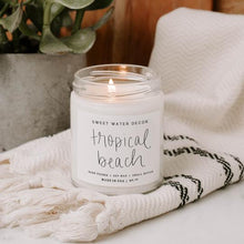 """Tropical Beach"" Soy Candle"