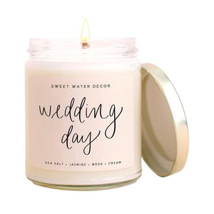 """Wedding Day"" Soy Candle"