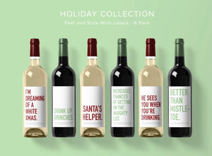 """Holiday"" Wine Labels"