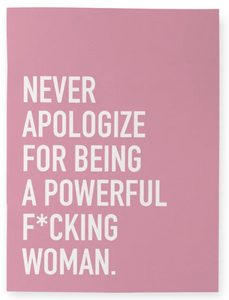 """Powerful Woman"" Notebook"