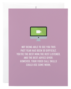 """Video Call Mom"" Card"