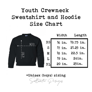 Custom Youth Crewneck Sweatshirt