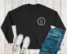 """Yes B'y"" (Circle Chest Logo) Crewneck Sweatshirt"