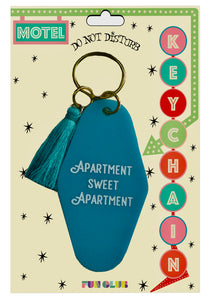 """Apartment Sweet Apartment"" Keychain"