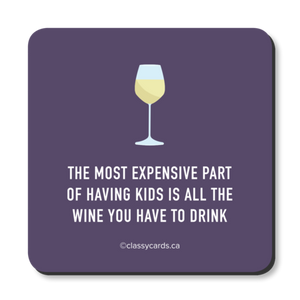 """Wine Kids"" Coaster"