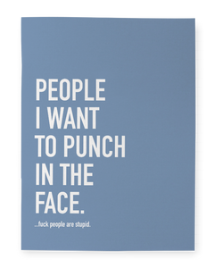 """Punch People"" Notebook"