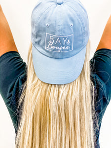 Bay & Boujee Baseball Hat (Baby Blue)
