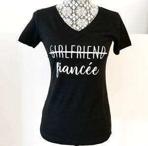 """Girlfriend/Fiancée"" Tee Shirt"