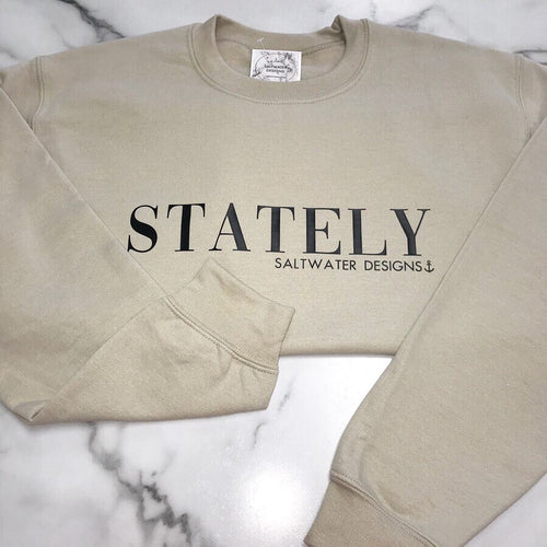 Stately Crewneck Sweatshirt
