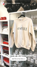"""Stately"" Crewneck Sweatshirt"