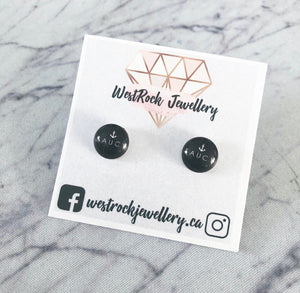 """Saucy"" Stud Earrings"