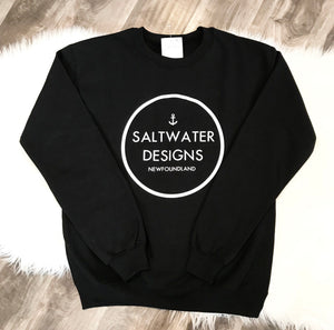 """Saltwater Designs"" Logo Sweatshirt"