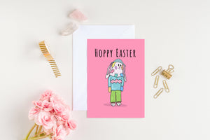 Bunny Mummer Easter Cards