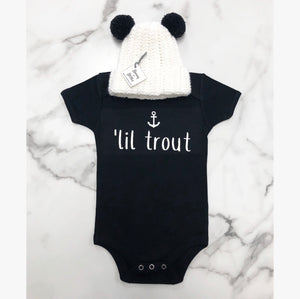 """'Lil Trout"" Onesie/Toddler/Youth T-Shirt"