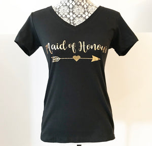 """Maid of Honour"" Tee Shirt"
