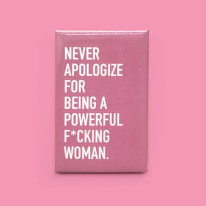 """Powerful Woman"" Magnet"