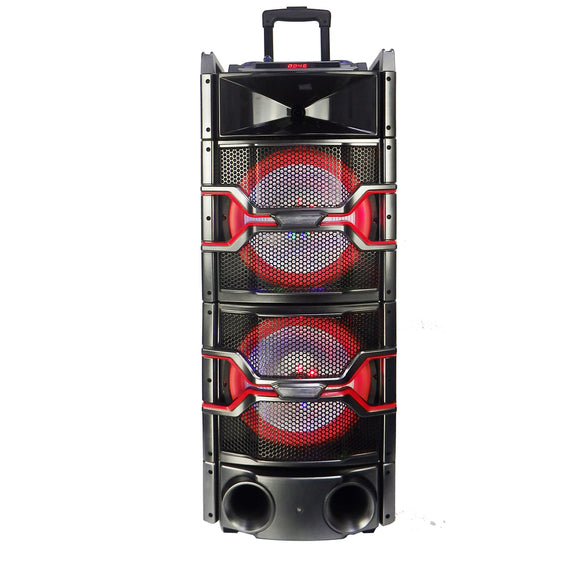 Befree Sound Dual 12 Inch Subwoofer Bluetooth Portable Party Speaker w