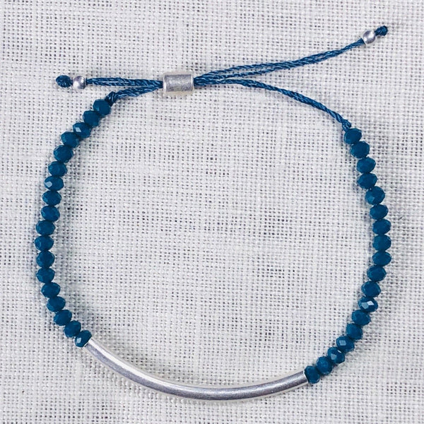 Bar and Beaded Bracelet