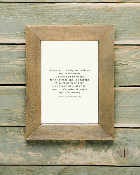 come with me (light) printable