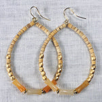 Large Hoop Mixed Wooden Beads