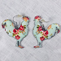 Rooster Earrings