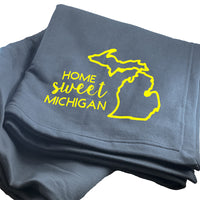 Home Sweet Michigan Blanket