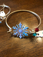 Bracelet Hold Bangle Snowflake