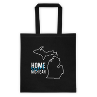 Home Sweet Michigan Tote Bag