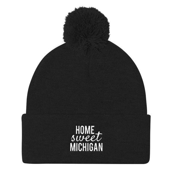 Home Sweet Michigan Knit Cap