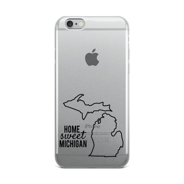 Home Sweet Michigan iPhone Case