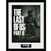 "The Last of Us Part II Key Art Framed Collector Print 12"" x 16""-Gaming Merch-RETROBLE"