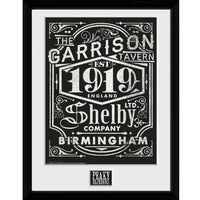 "Peaky Blinders Shelby Company Framed Collector Print 12"" x 16""-Gaming Merch-RETROBLE"